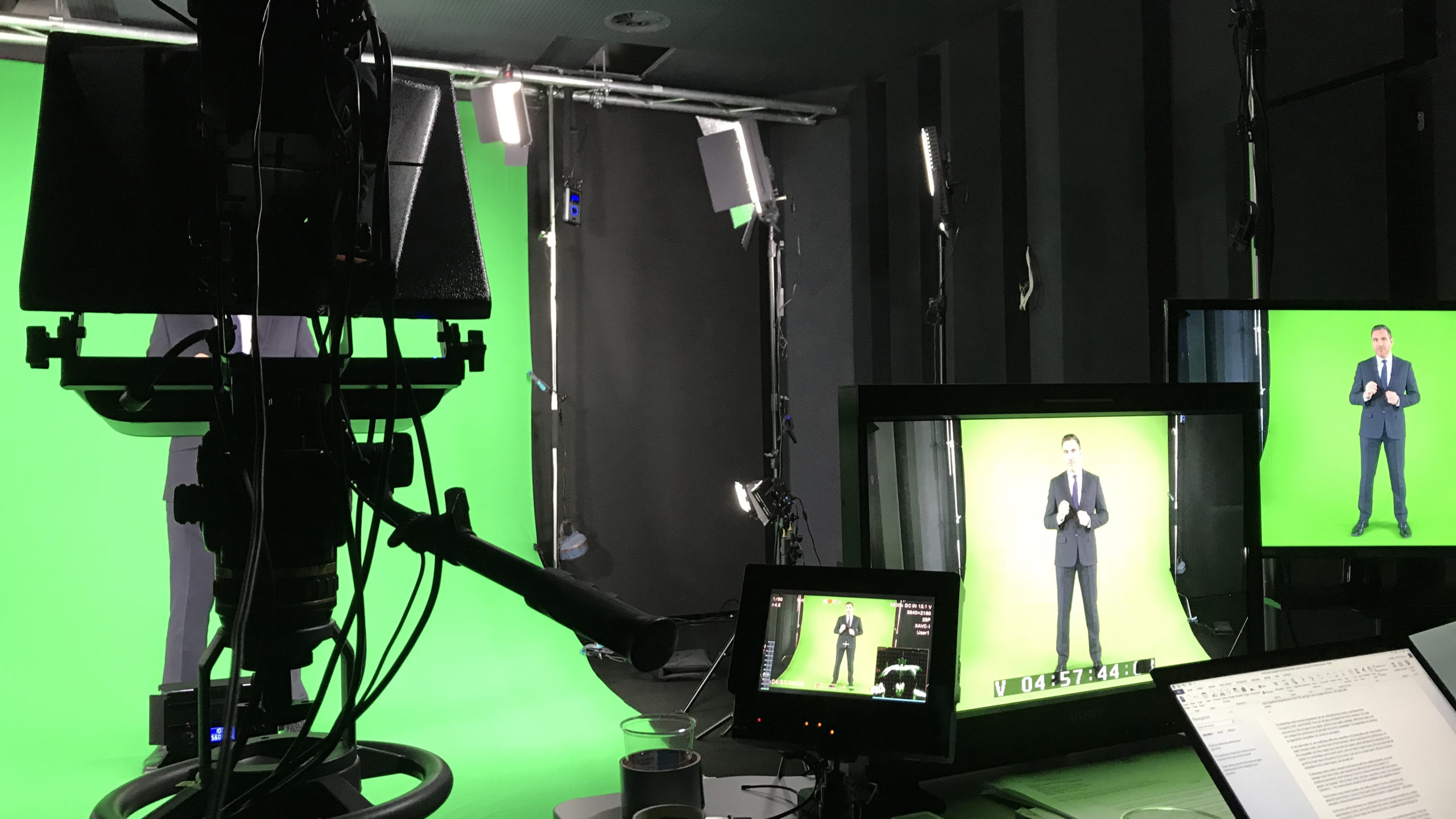 VPS prod Studio vidéo Green Box Location
