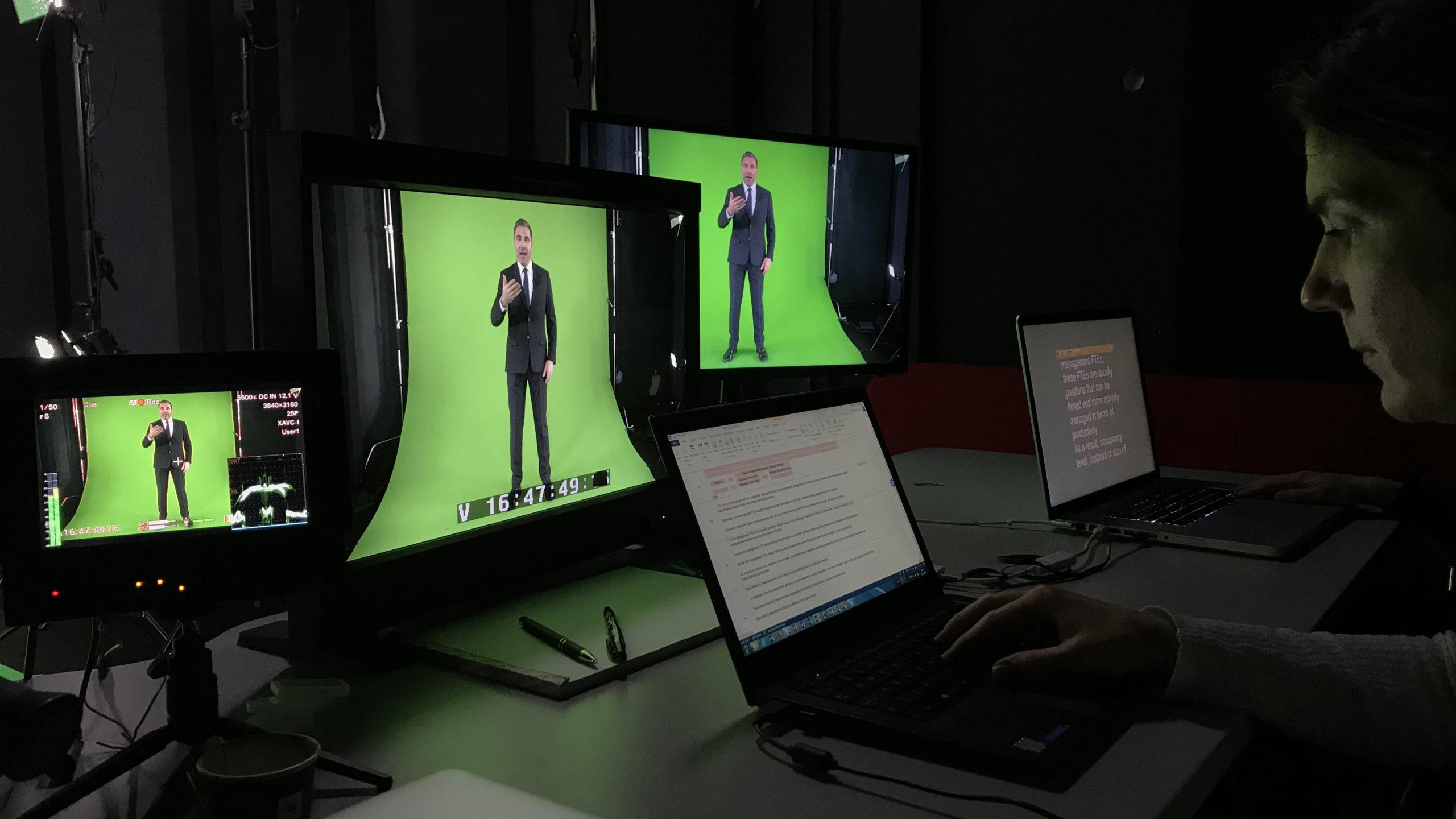 VPS prod louer Green Box studio vidéo à Lausanne