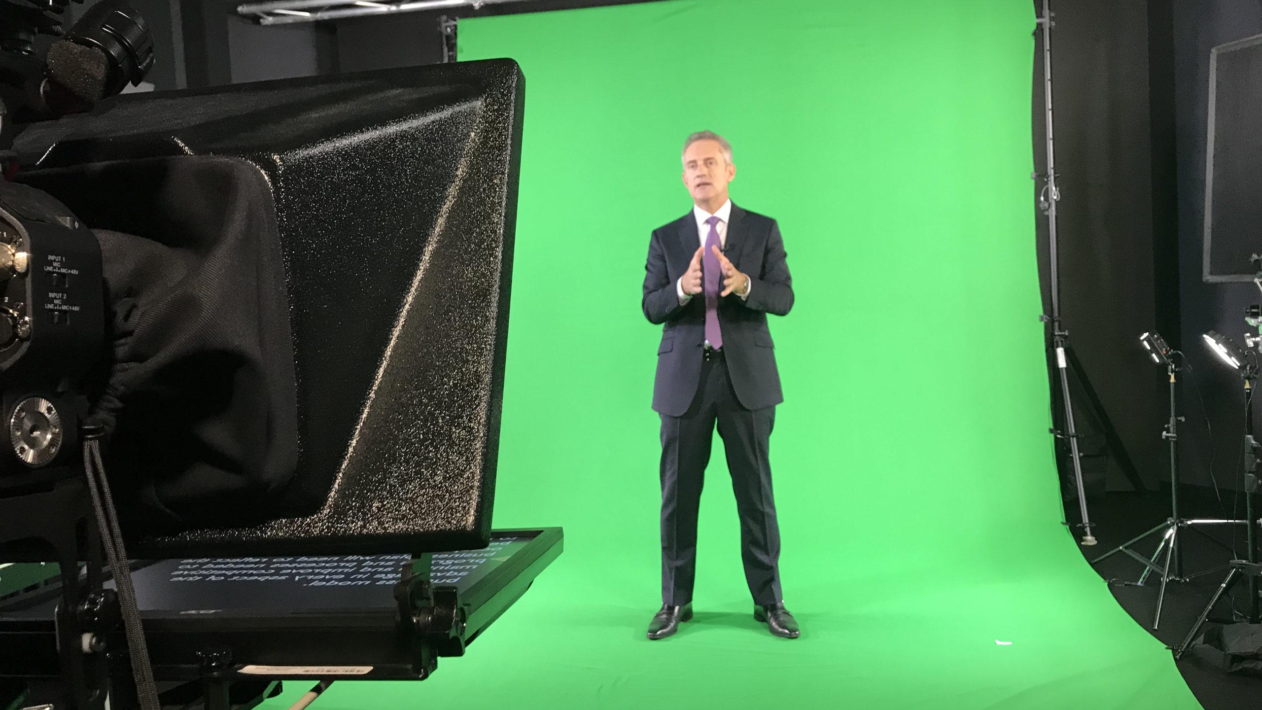 VPS prod loue studio vidéo, Green Box à Lausanne